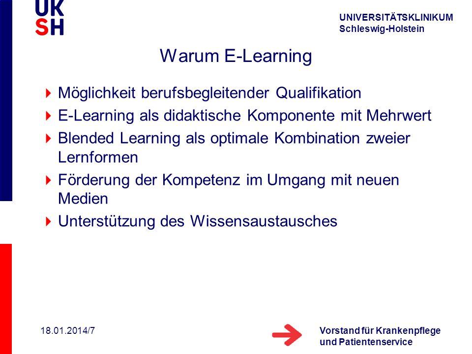 Warum E-Learning Möglichkeit berufsbegleitender Qualifikation