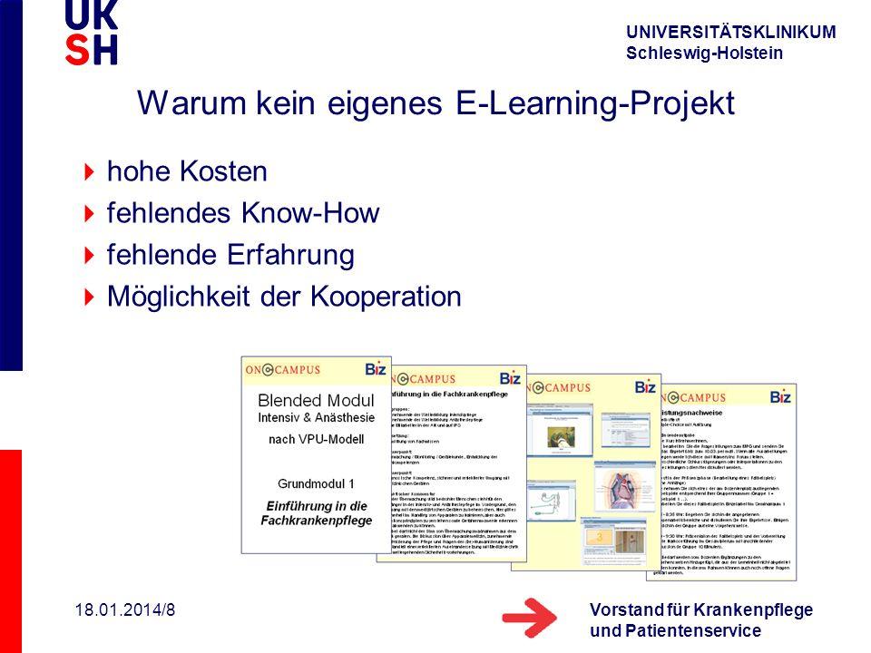 Warum kein eigenes E-Learning-Projekt