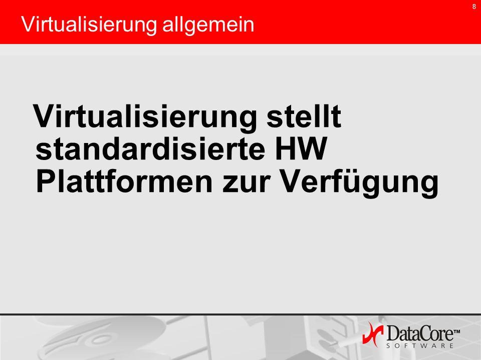 Virtualisierung allgemein