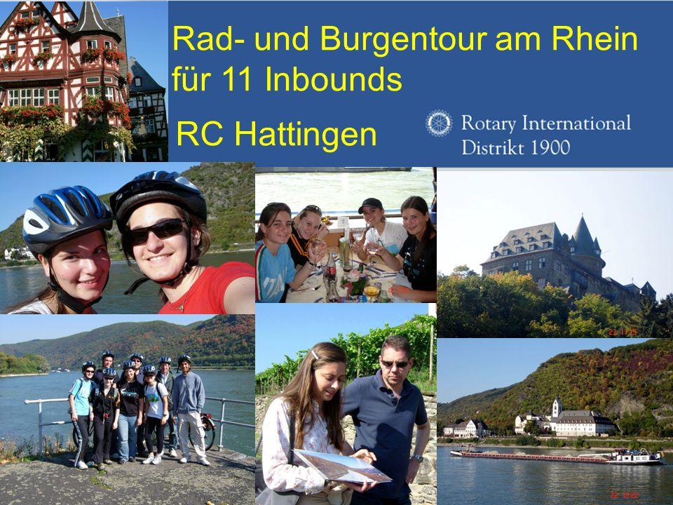 Rad- und Burgentour am Rhein für 11 Inbounds