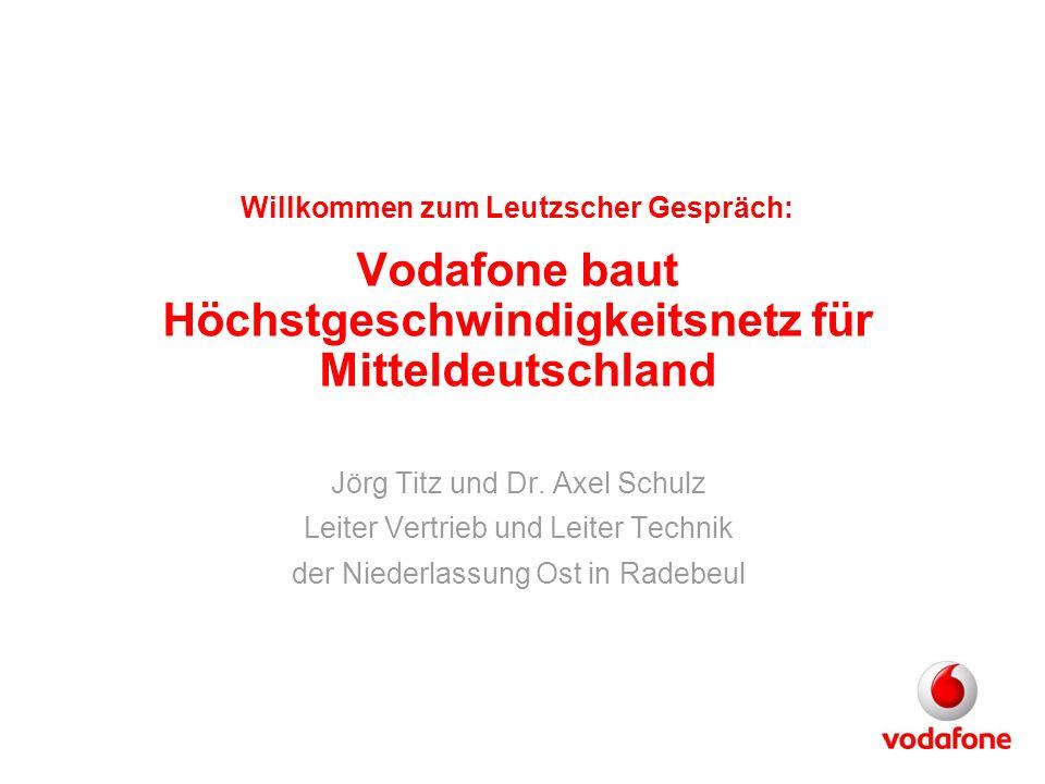 Jörg Titz und Dr. Axel Schulz Leiter Vertrieb und Leiter Technik