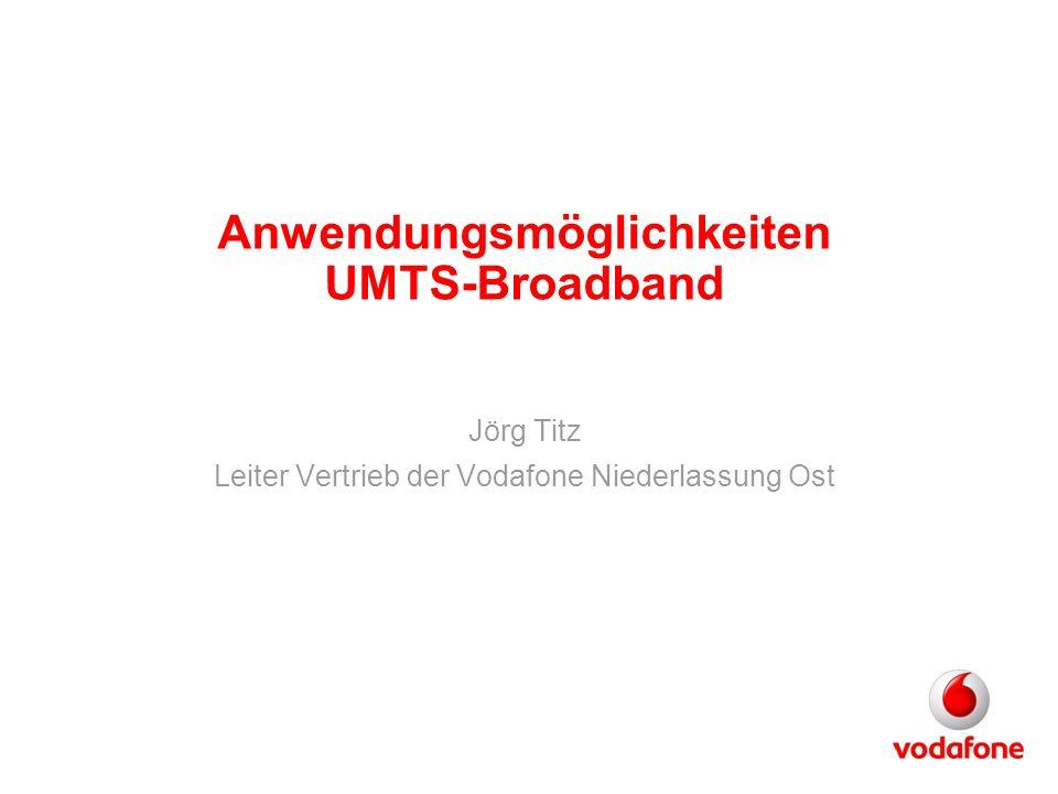Anwendungsmöglichkeiten UMTS-Broadband
