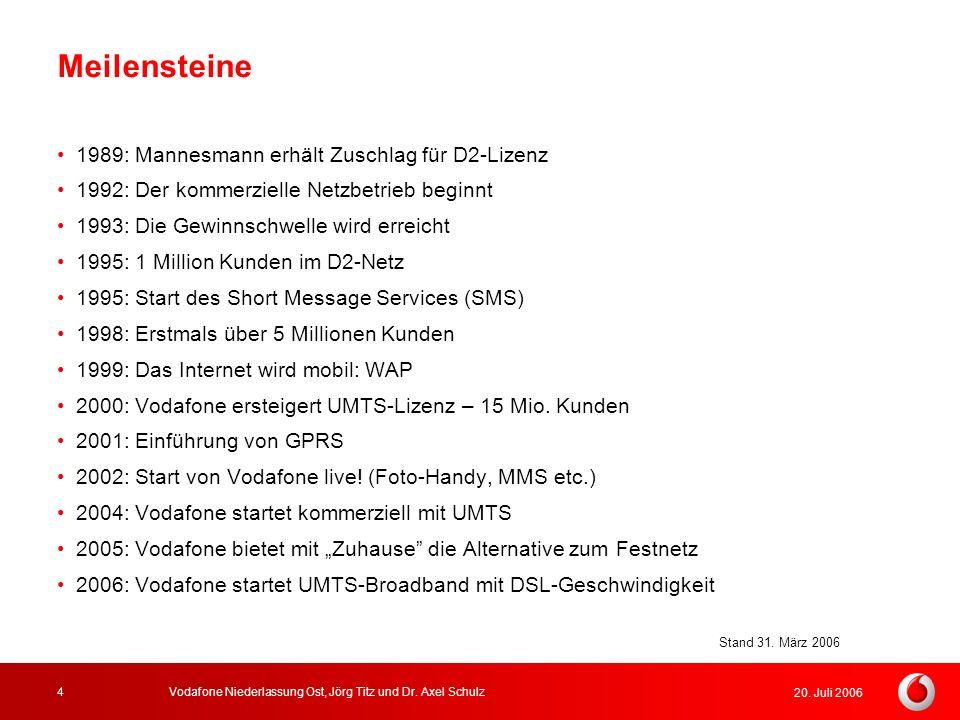 Meilensteine 1989: Mannesmann erhält Zuschlag für D2-Lizenz