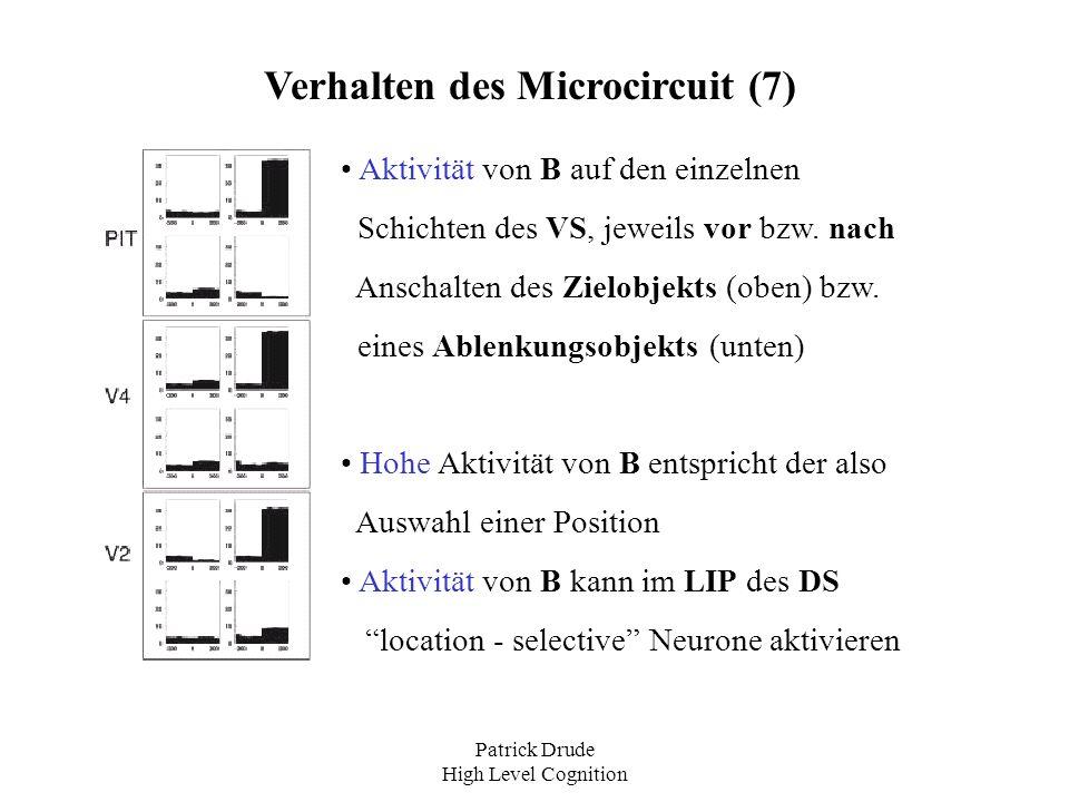 Verhalten des Microcircuit (7)
