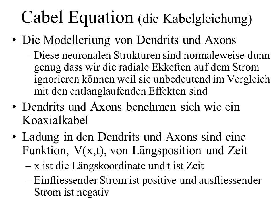 Cabel Equation (die Kabelgleichung)