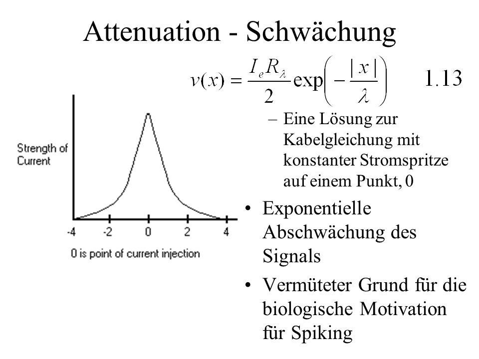 Attenuation - Schwächung