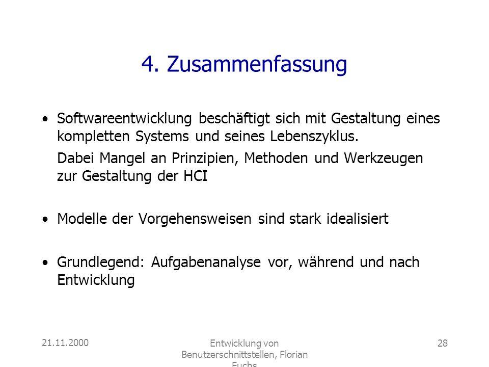 Entwicklung von Benutzerschnittstellen, Florian Fuchs