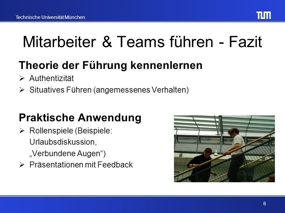Mitarbeiter & Teams führen - Fazit