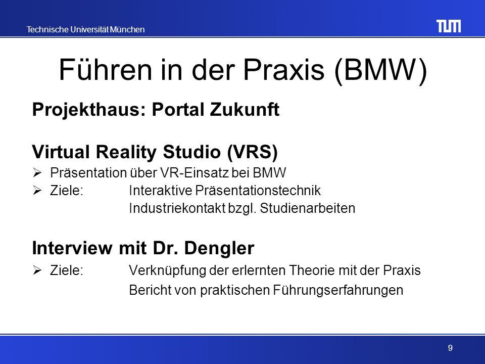 Führen in der Praxis (BMW)