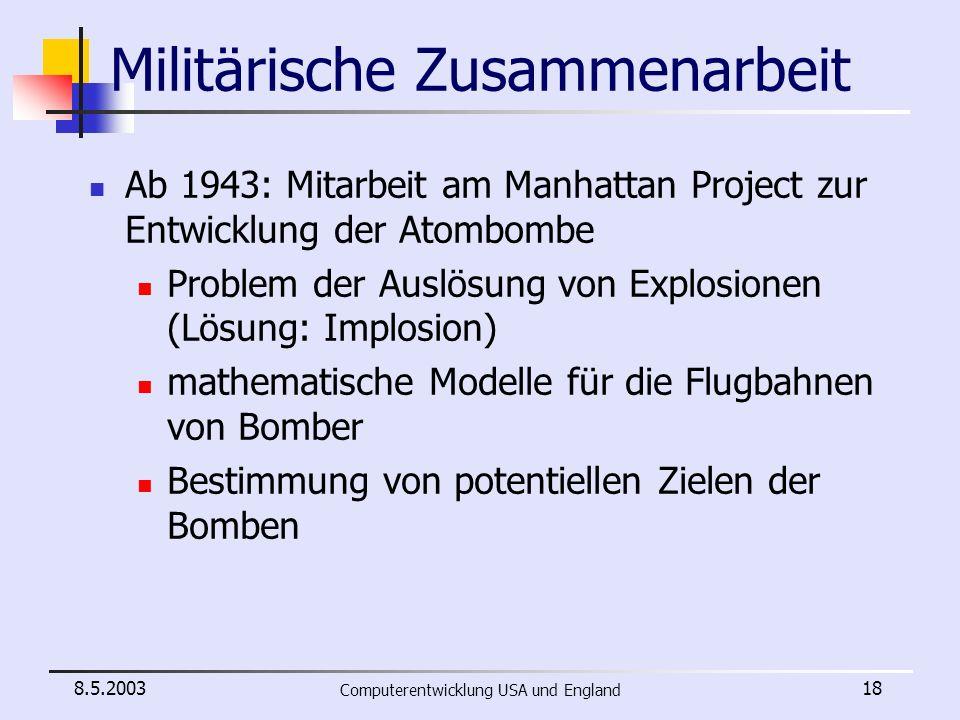 Militärische Zusammenarbeit