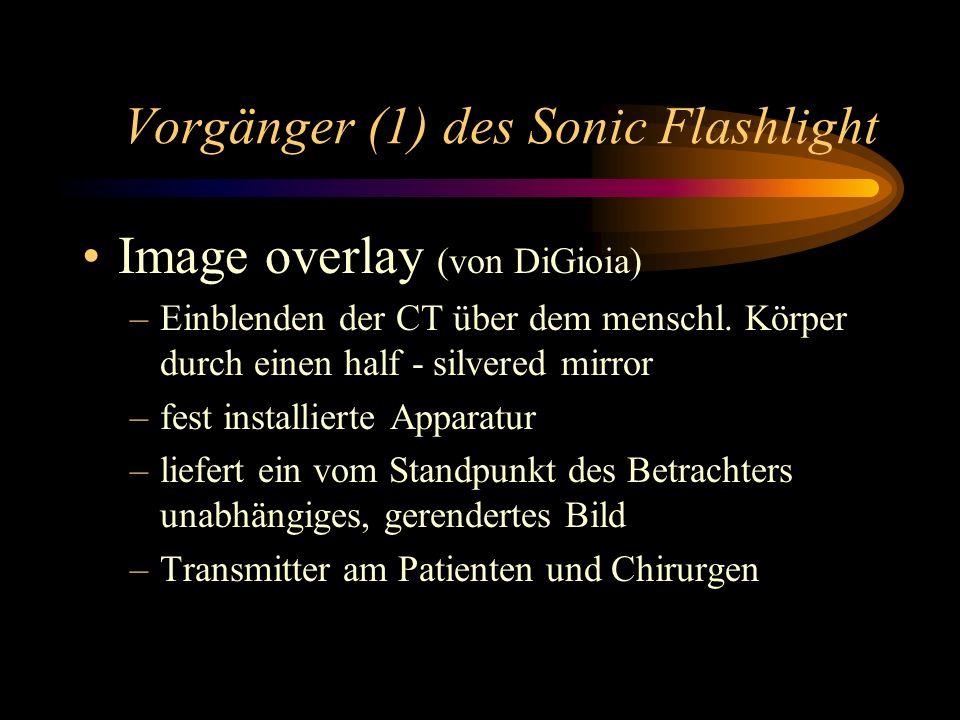 Vorgänger (1) des Sonic Flashlight