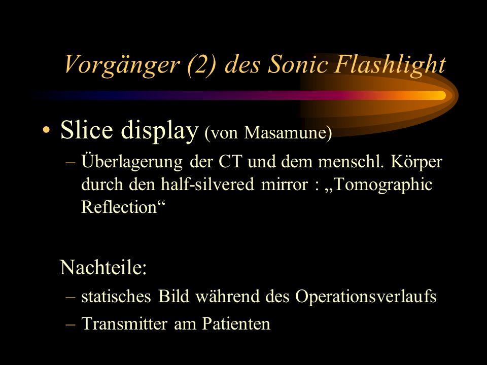 Vorgänger (2) des Sonic Flashlight