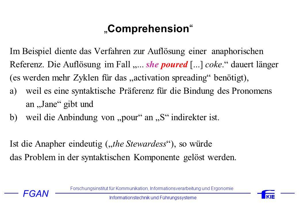 """""""Comprehension Im Beispiel diente das Verfahren zur Auflösung einer anaphorischen."""