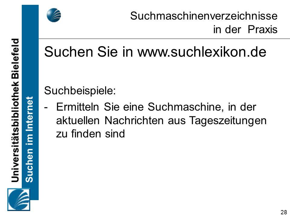 Suchen Sie in www.suchlexikon.de