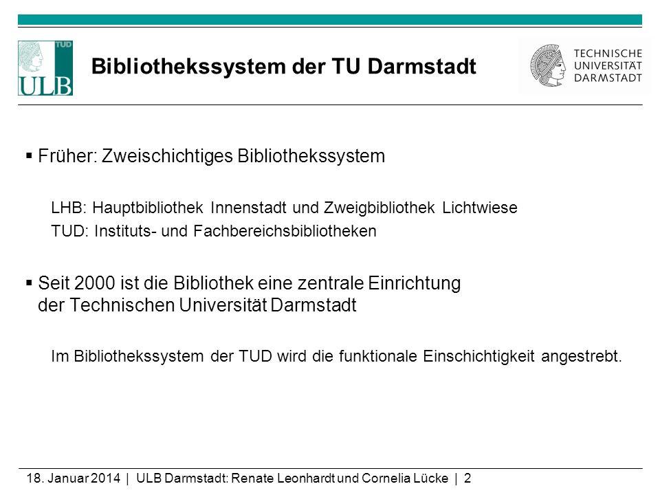 Bibliothekssystem der TU Darmstadt