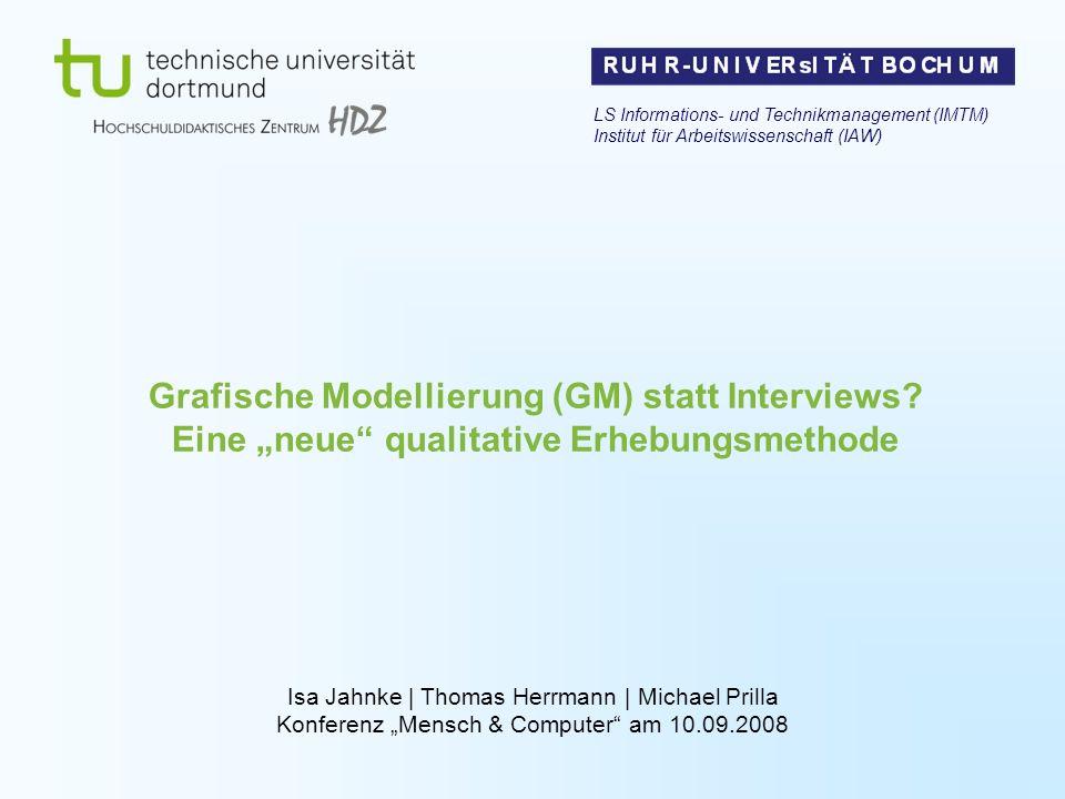 LS Informations- und Technikmanagement (IMTM) Institut für Arbeitswissenschaft (IAW)