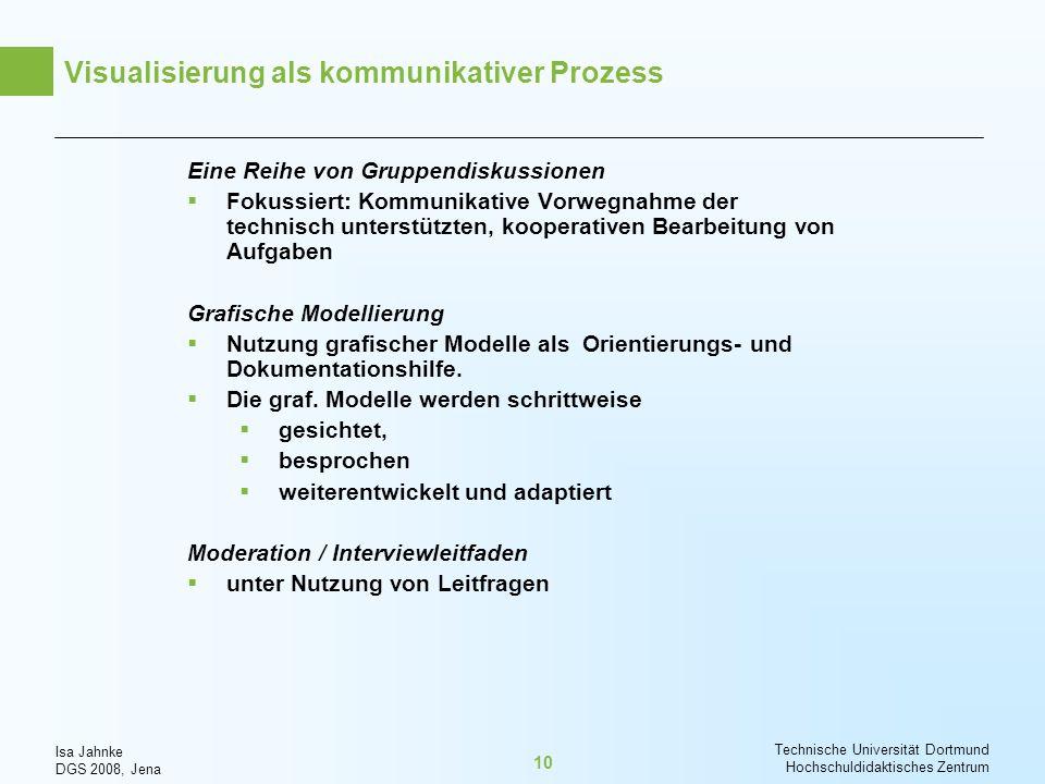 Visualisierung als kommunikativer Prozess