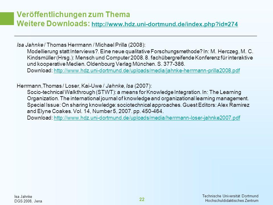 Veröffentlichungen zum Thema Weitere Downloads: http://www. hdz