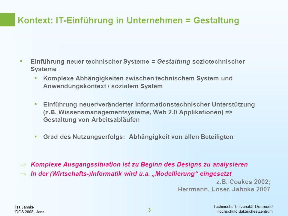 Kontext: IT-Einführung in Unternehmen = Gestaltung