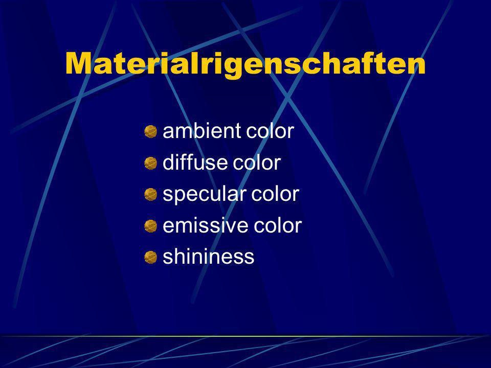Materialrigenschaften