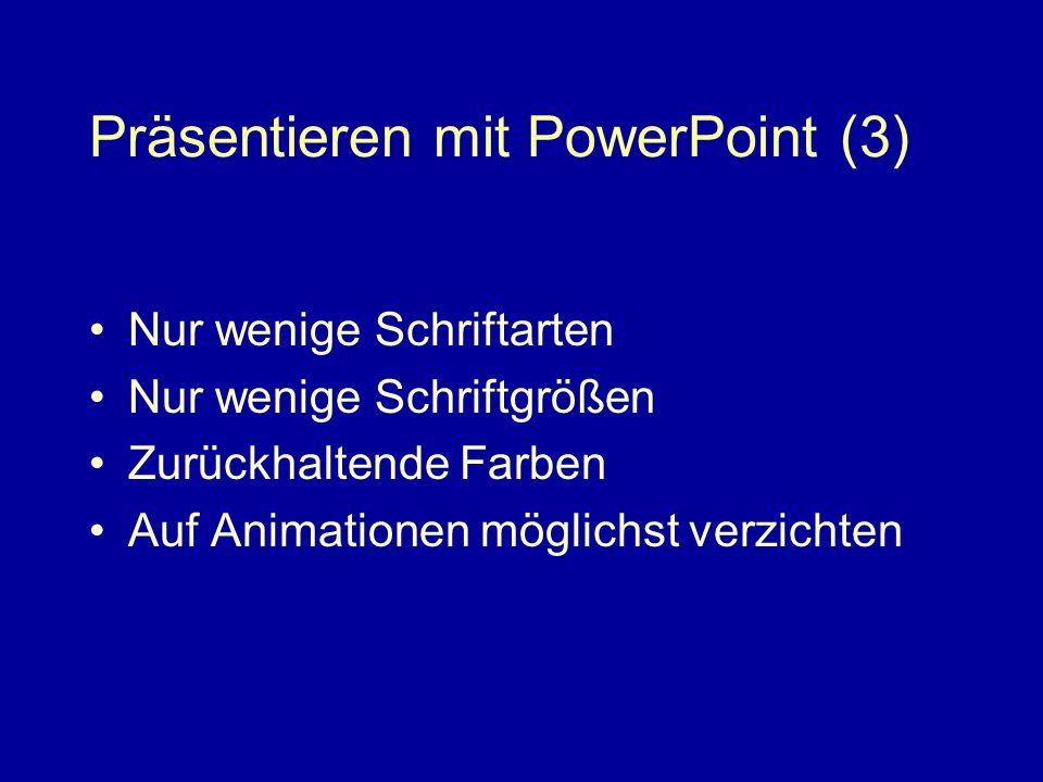Präsentieren mit PowerPoint (3)