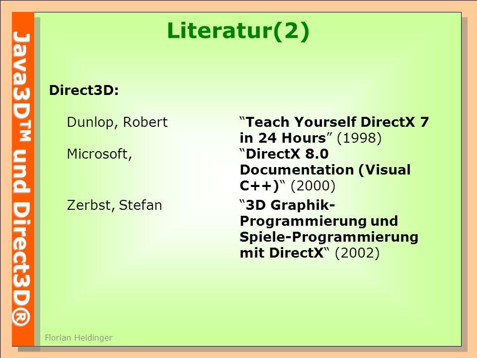 Literatur(2)