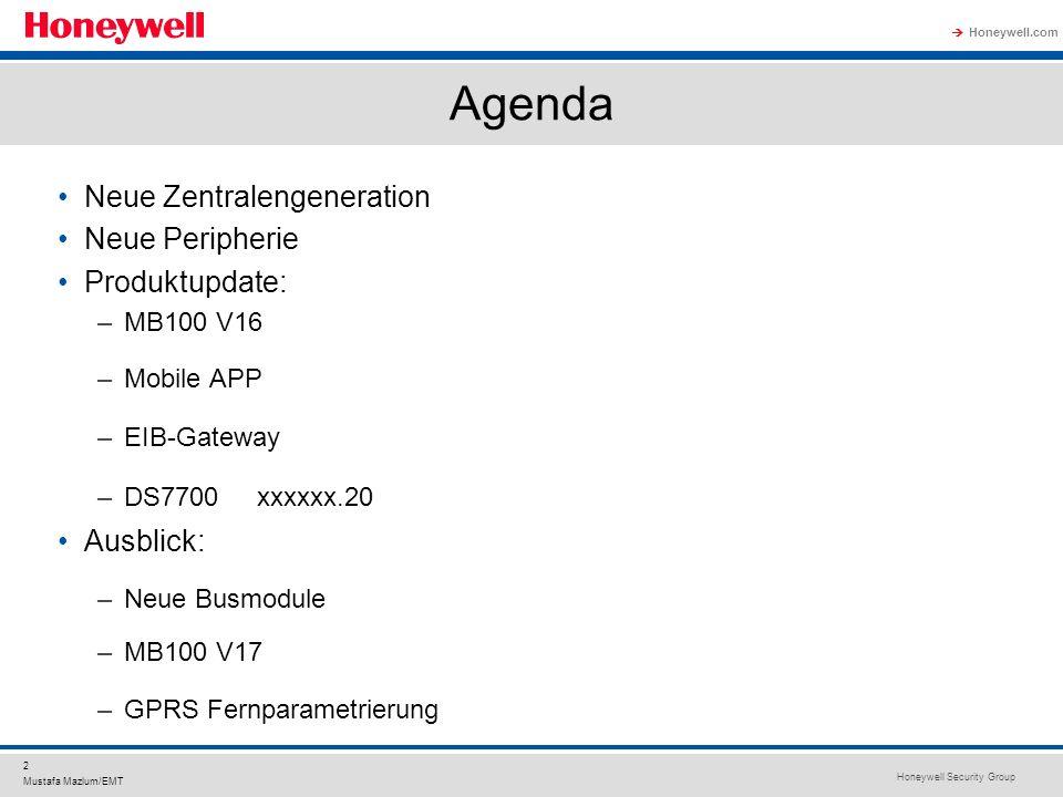 Agenda Neue Zentralengeneration Neue Peripherie Produktupdate: