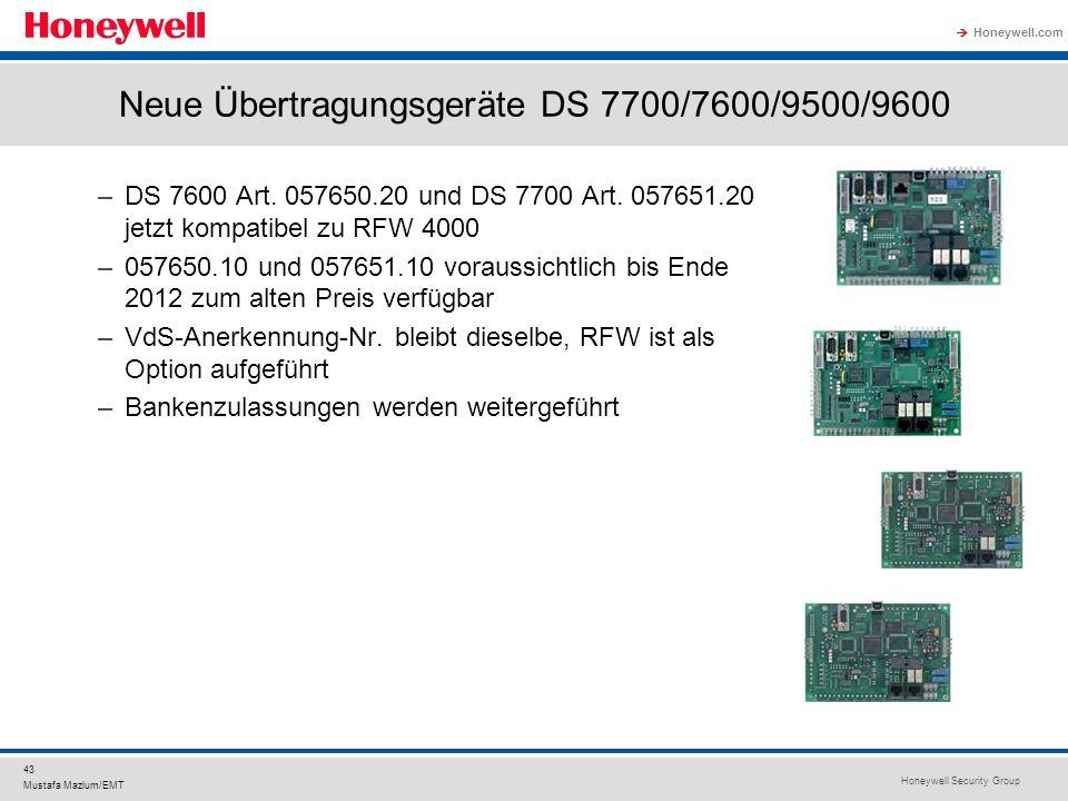Neue Übertragungsgeräte DS 7700/7600/9500/9600