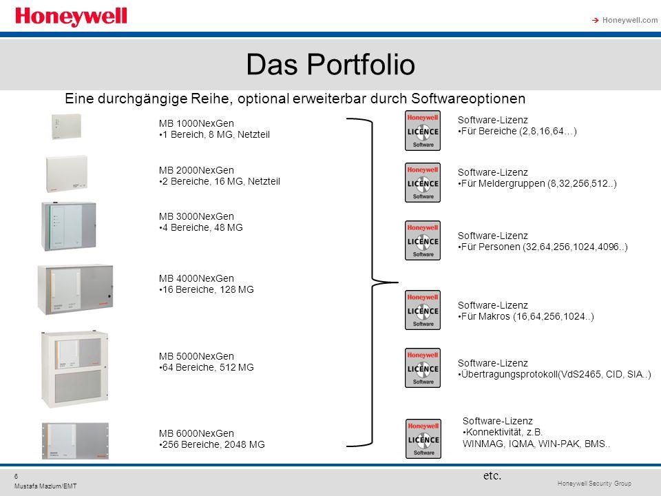 Das Portfolio Eine durchgängige Reihe, optional erweiterbar durch Softwareoptionen. MB 1000NexGen.