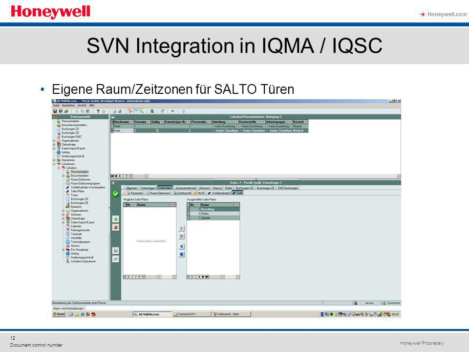 SVN Integration in IQMA / IQSC
