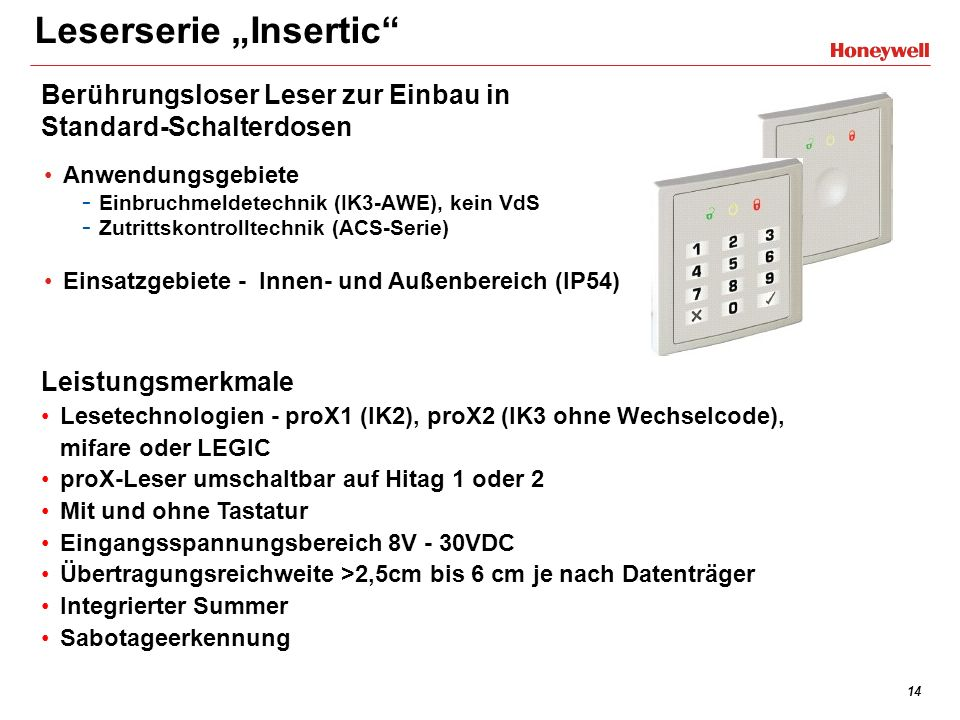 "Leserserie ""Insertic"