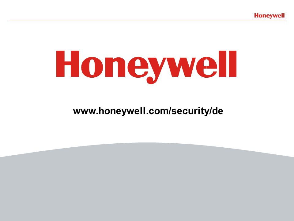 www.honeywell.com/security/de