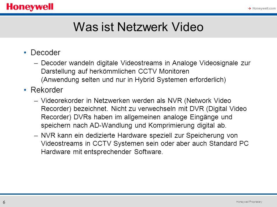 Was ist Netzwerk Video Decoder Rekorder