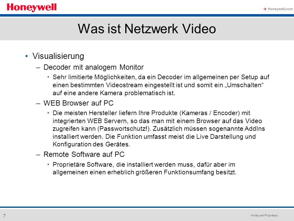Was ist Netzwerk Video Visualisierung Decoder mit analogem Monitor