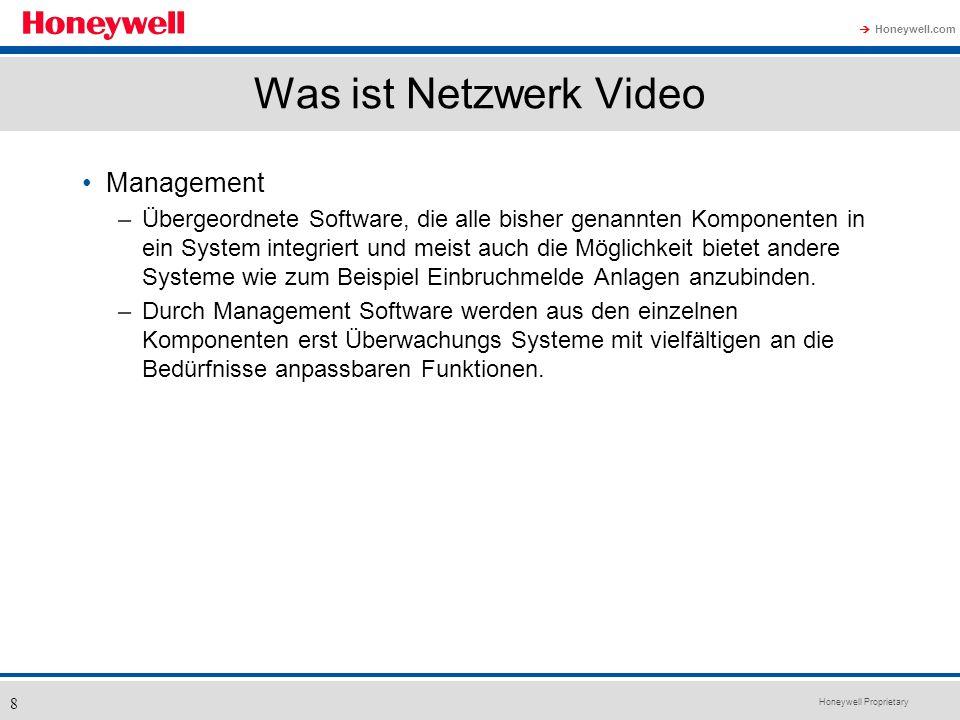 Was ist Netzwerk Video Management