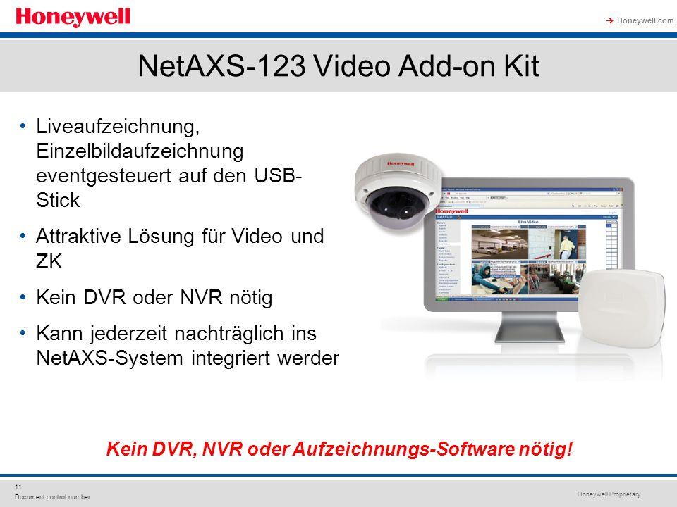 NetAXS-123 Video Add-on Kit