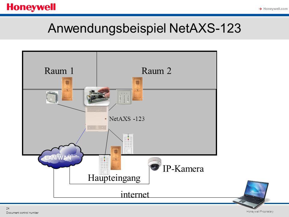 Anwendungsbeispiel NetAXS-123