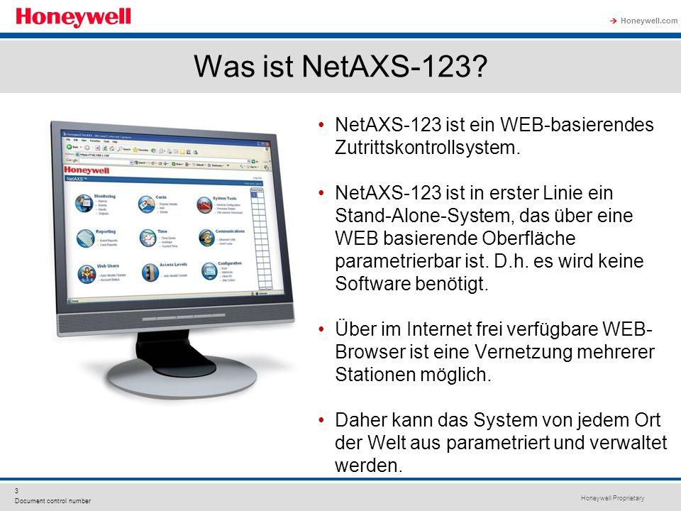 Was ist NetAXS-123 NetAXS-123 ist ein WEB-basierendes Zutrittskontrollsystem.