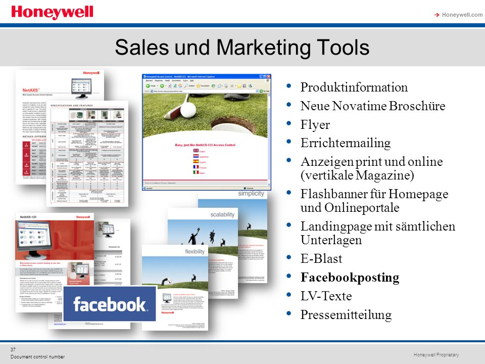 Sales und Marketing Tools