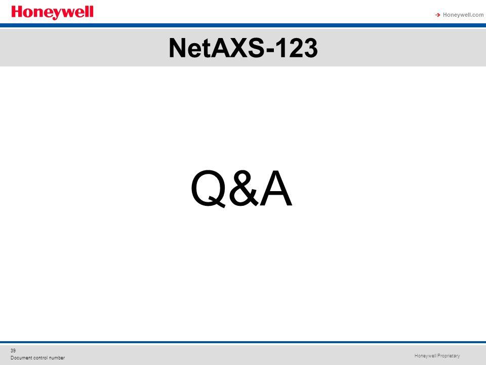 NetAXS-123 Q&A