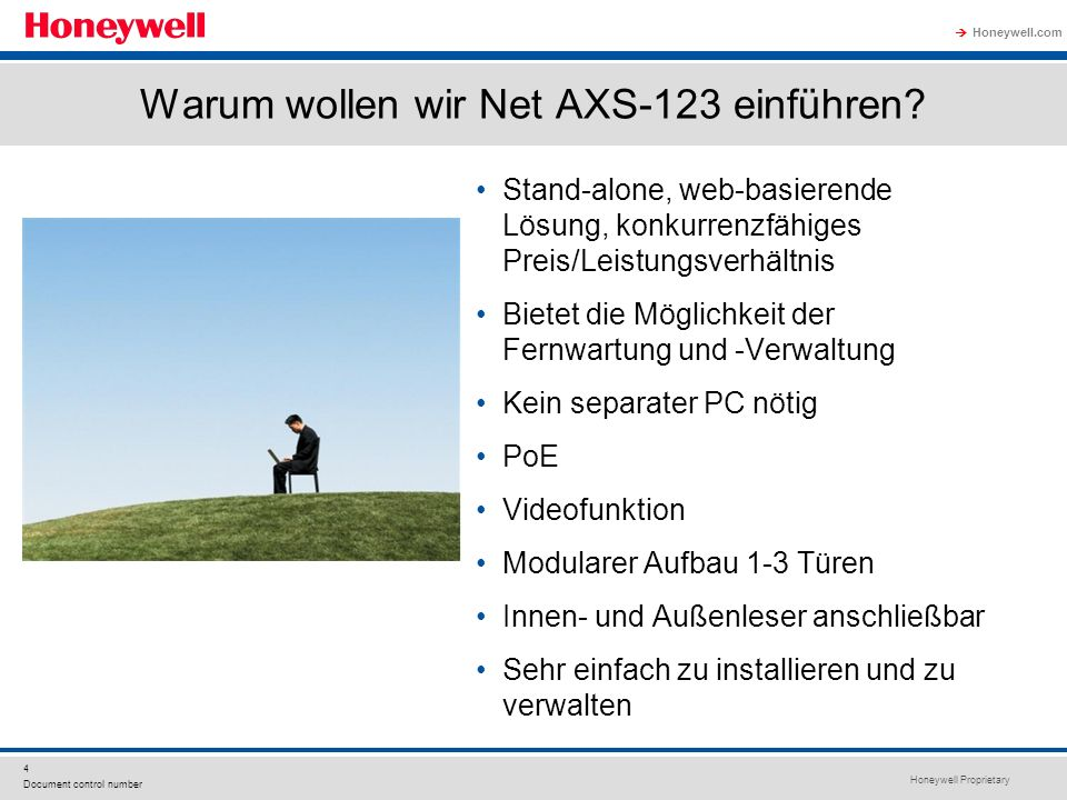 Warum wollen wir Net AXS-123 einführen