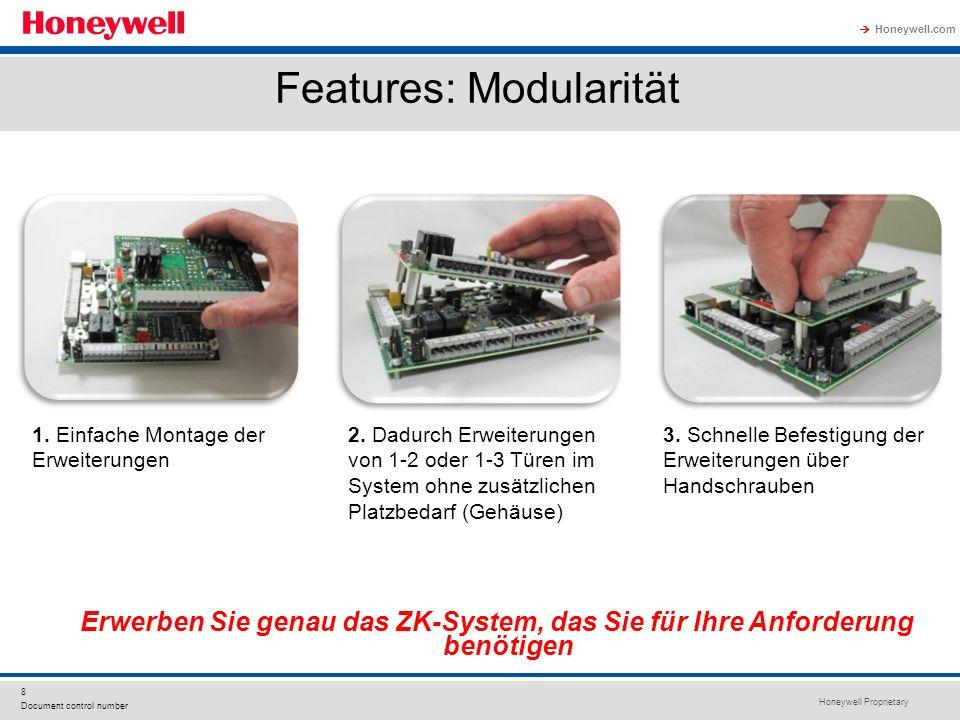Features: Modularität