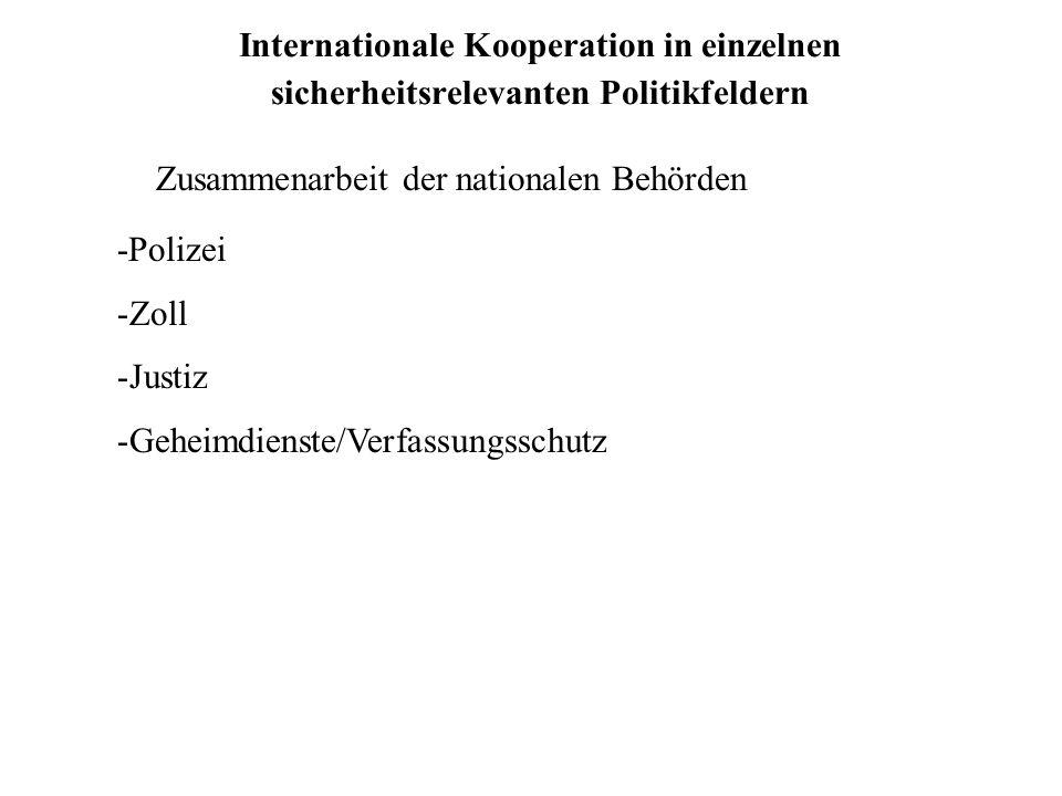 Zusammenarbeit der nationalen Behörden