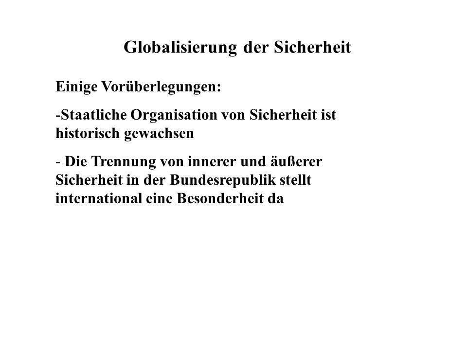 Globalisierung der Sicherheit