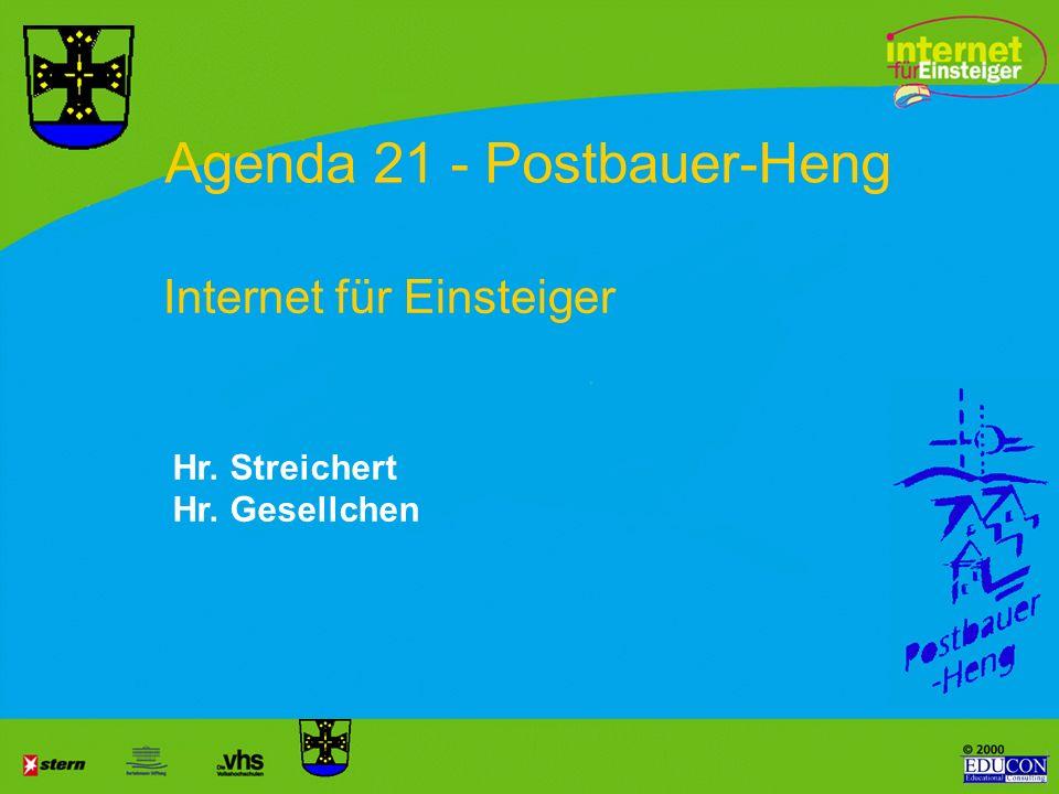 Agenda 21 - Postbauer-Heng