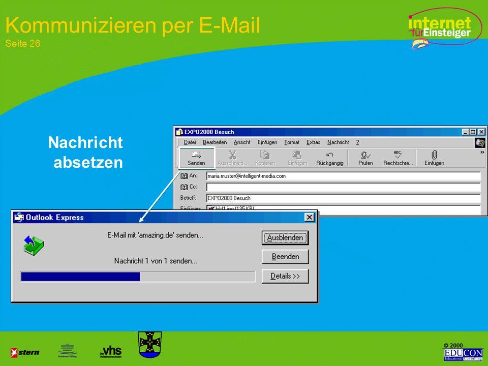 Kommunizieren per E-Mail Seite 26