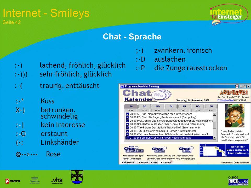 Internet - Smileys Seite 42