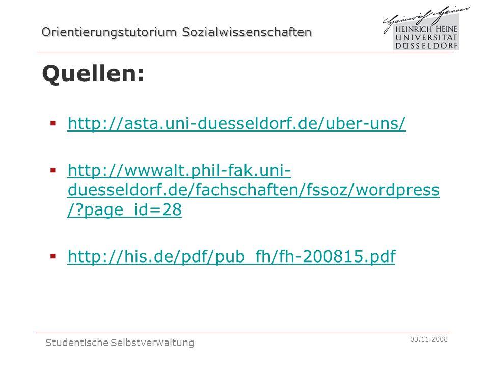 Quellen: http://asta.uni-duesseldorf.de/uber-uns/