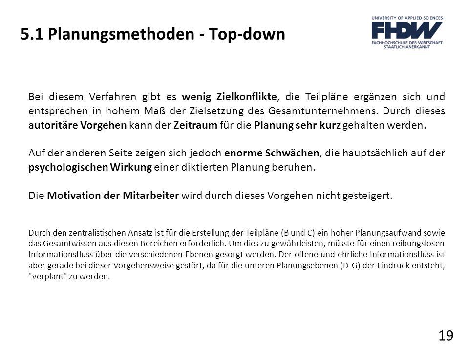 5.1 Planungsmethoden - Top-down