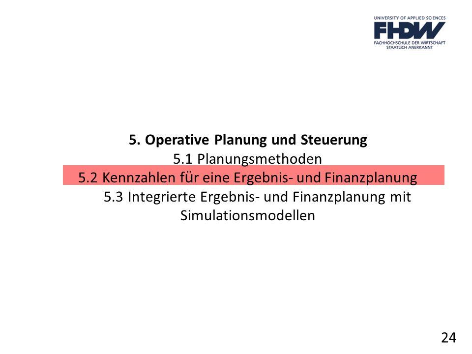 5. Operative Planung und Steuerung